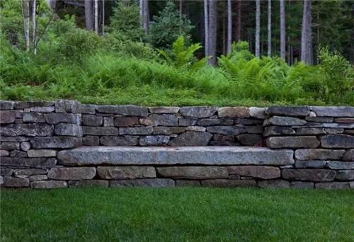 细微之处见个性,景观挡土墙的设计与应用